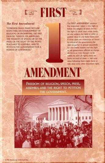 amendment 1 Famous for the #1 best selling pocket constitution books, videos, and courses for studying the united states constitution, bill of rights, and other amendments.